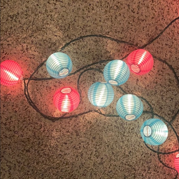 Accents Two Sets Of Lantern String Lights Poshmark